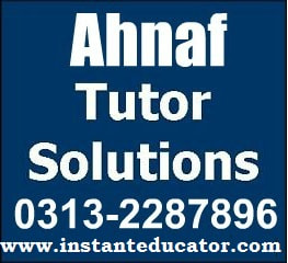 Ahnaf Group Tuition Center and Coaching Classes | MBA Tuition | Aptitude Test Preparation | ACCA | B.COM | BBA | IELTS | O/A-level | Music Lessons